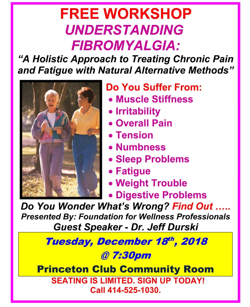 Upcoming Event at Durski Chiropractic Center