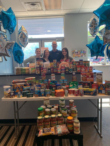 Food Pantry at Durski Chiropractic Center